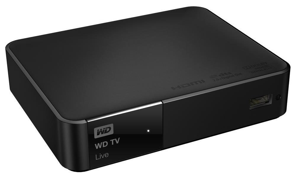 WD TV Live Media Player (HDMI, WiFi, MPEG1/2/4,
