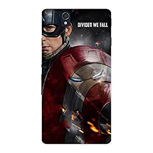 Divide Back Case Cover for Sony Xperia Z