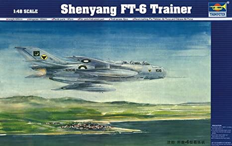 Maquette Shenyang FT-6 Trainer