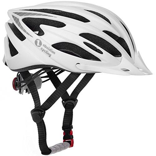 Airflow-Fahrradhelm-mit-Sicherheitszertifikat-Speziell-fr-Radtouren-Mountainbiking-Hochwertig-Bequem-Leicht-Atmungsaktiv-Geeignet-fr-Mnner-Frauen-Teenager-Matte-White-ML