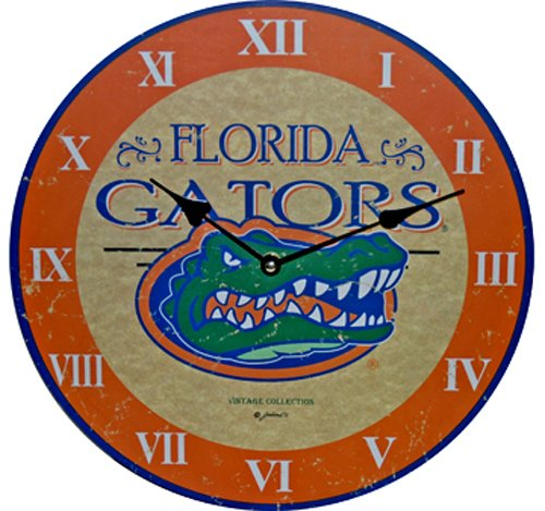NCAA Florida Gators Large Clock