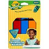 Crayola Washable Triangular Markers (1 box, 5 ct.)