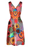 G2 Chic Women's Lightweight Printed Summer Sun Dresses