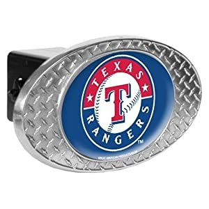 Great American MLB Diamond Plate Trailer Hitch Cover by Great American Products