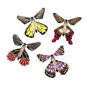 Wind-Up Magic Butterflies (set of 4)