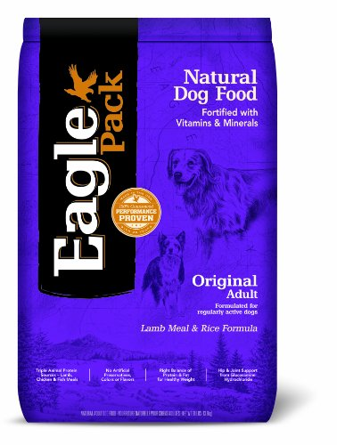 Natural Pet Food, Original Adult Lamb Meal and Rice Formula for Dogs – 30-Pound Bag