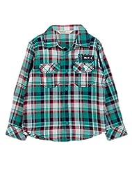 Teal Green Check Shirt Green Check