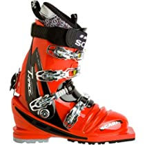Scarpa T-Race Telemark Ski Boot, Red/Black, Size 26.5