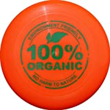 Eurodisc 175g Ultimate Frisbee Flying Disc 98% ORGANIC MATERIAL - BRIGHT ORANGE