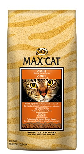 Nutro MAX CAT Adult Dry Cat Food, Roasted Chicken, 3 lbs. (Nutro Max Canned Cat Food compare prices)