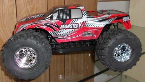 Radio Controlled 1:10 Electric Monster Truck Licenced Grim Reaper