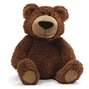 "Hubble Brown Bear 15"" from Gund"