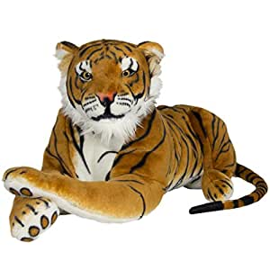 Best Choice Products Large Tiger Plush Animal
