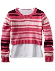Energie Stripe Twofer Sweater Medium