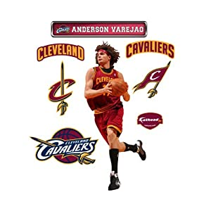 NBA Cleveland Cavaliers Anderson Varejao Junior Wall Graphic by Fathead