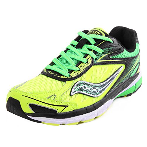 Saucony Kids Ride 8 Green Citron 35.5