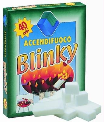 Accendifuoco blinky 40 cubetti