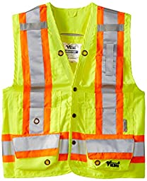 Viking Class 2 Reflective Surveyor Vest, Green, X-Large