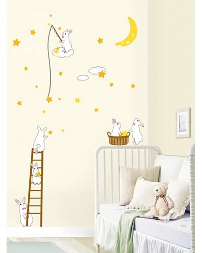 Ambiance Live Vinile Decorativo Rabbits and Stars