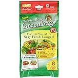 Debbie Meyer GreenBags Freshness-Preserving Food/Flower Storage Bags, Extra Large, 8-Pack