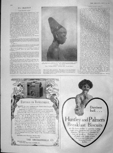 1904 HA SPOSATO I BISCOTTI ZULÙ DEI CAPELLI HUNTLEY PALMER DELLA DONNA
