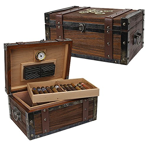 Steampunk Trunk humidor 100 Count Trunk Humidor
