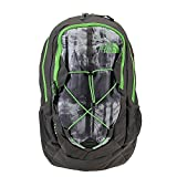 The North Face Jester Backpack Graphite Grey Silhouette Print/Krypton Green