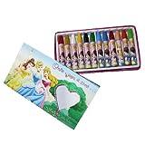Disney Princess wax crayons box