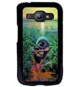 Aart Designer Luxurious Back Covers for Samsung J1 + Flexible Portable Thumb OK Stand by Aart Store.