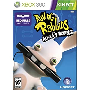 Raving Rabbids: Alive & Kicking Video Game for Xbox 360