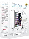 ★ The Ultimate Bundle for iPhone 6 Plus ★ - 7 in 1 Accessory Kit - White - Apple MFi Certified - Gift Packaging Includes: 3ft MFi-Certified Lightning Cable, Wall Charger, Car Charger, Earbuds Headset with Remote and Mic, Clear HD Screen Protector w/ Cleaning Cloth, TPU Case, Stylus