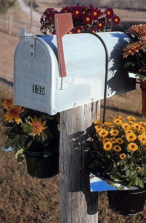 Amazing Mailbox For Floral Wire Pictures Inspiration - Electrical ...