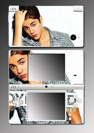 Justin Bieber Boyfriend Never Say Game Vinyl Decal Cover Mod Skin Protector #30 for Nintendo DSi