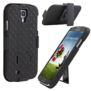 Amazon Com Evecase 2 In 1 Black Stand Case With Kickstand