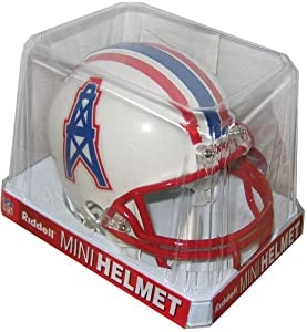 Riddell Tennessee Titans Houston Oilers Mini Replica Throwback Helmet by Riddell