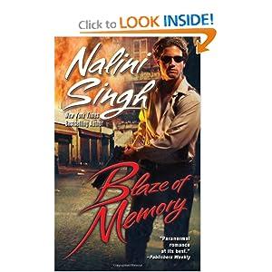 Blaze of Memory (Psy-Changeling, #7)(request) - Nalini Singh