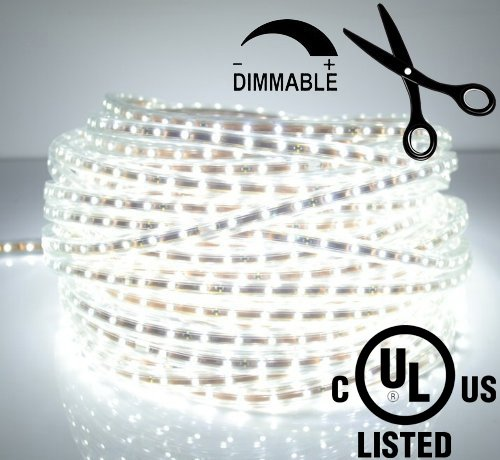 LEDJump® Bright Pure White Dimmable Linkable 300SMD LED