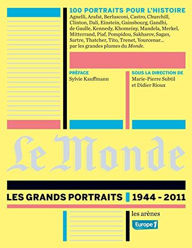 Le Monde : grands portraits