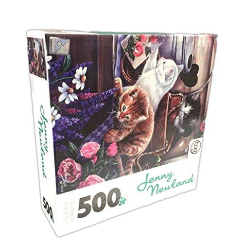 Jenny Newland Playful Kittens 500 Piece Jigsaw Puzzle