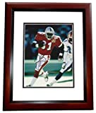 Autographed Brown Picture - Oakland Raiders 8x10 Pro Bowl MAHOGANY CUSTOM FRAME - Autographed NFL Photos at Amazon.com