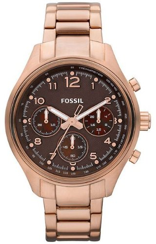 Fossil Women's CH2793 Flight Chocolate Dial Watch