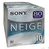 SONY MD (�~�j�f�B�X�N) 80�� 10PACK NEIGE(�l...