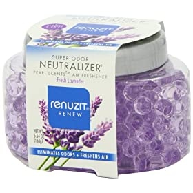 Dial 1723318 Renuzit Super Odor Neutralizer Pearl Scents Fresh Lavender Air Freshener, 5.64oz Bottle (Pack of 8)