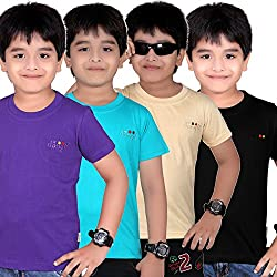 DONGLI BOYS CUTE 4PCS COMBO TSHIRT