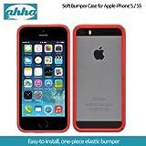 Ahha Joop Soft Bumper Case For Apple IPhone 5S / 5 - Red / Black (A-SBIH5-0J91)