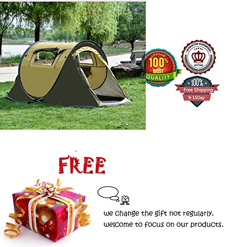 Ezyoutdoor 86X48X39'' Instant Pop up Beach Cabana Tent Sun Shelter 2-3 person