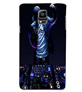 SAMSUNG GALAXY NOTE 3 DJ Back Cover by PRINTSWAG