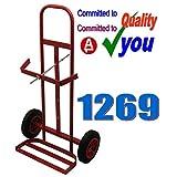 Gas Portable Welding Trolley 1269 Twin Bottle Welder NEW 2 Bottle Holder