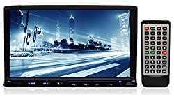 See Pupug7-Inch Double-DIN TFT Touchscreen DVD/VCD/CD/MP3/MP4/CD-R/USB/SD-MMC Card Slot/AM/FM/iPod Connector Details