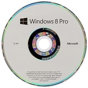 Windows 8 Pro OEM 32 Bit Vollversion